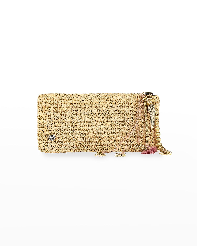 Sunshine Crochet Clutch Bag