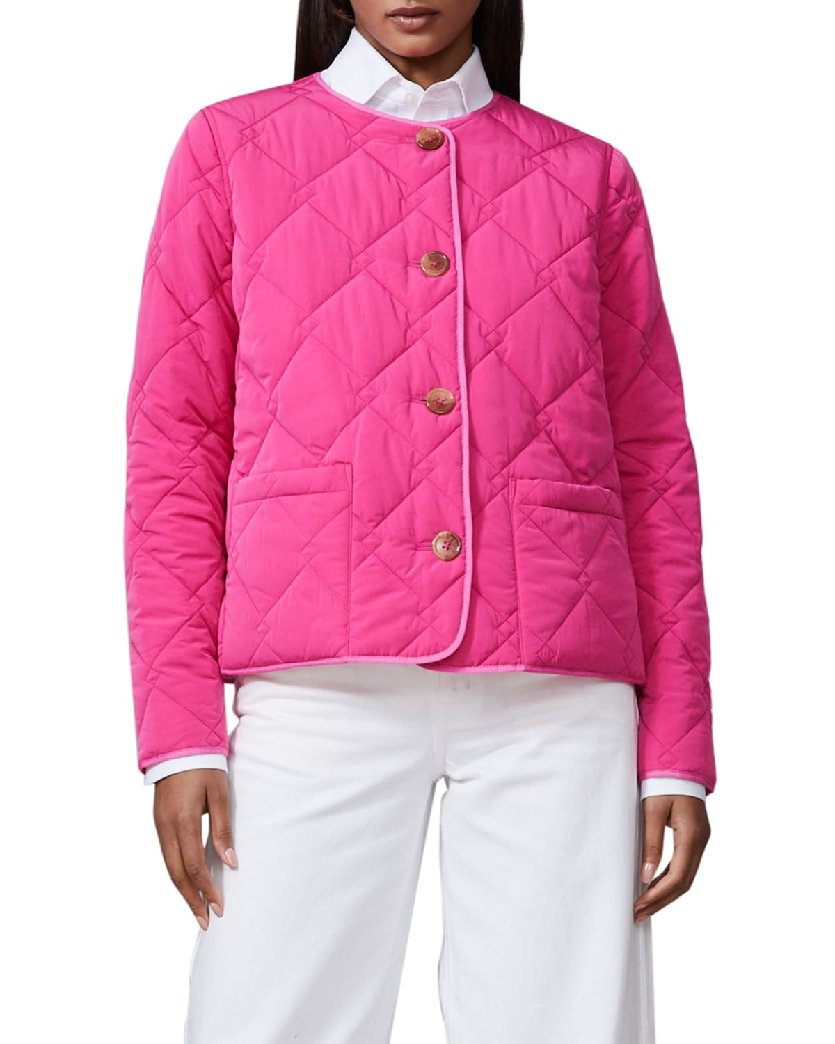 Short Reversible Quilted Jacket