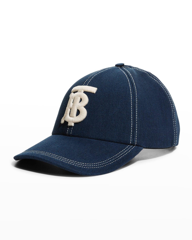 Men's TB Logo Denim Baseball Cap