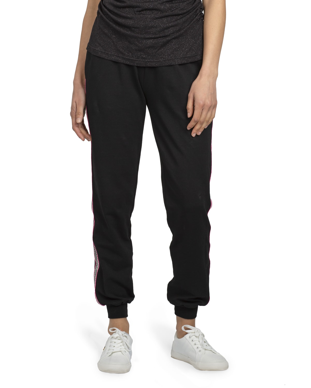 Glam Ribbon Cotton Pants