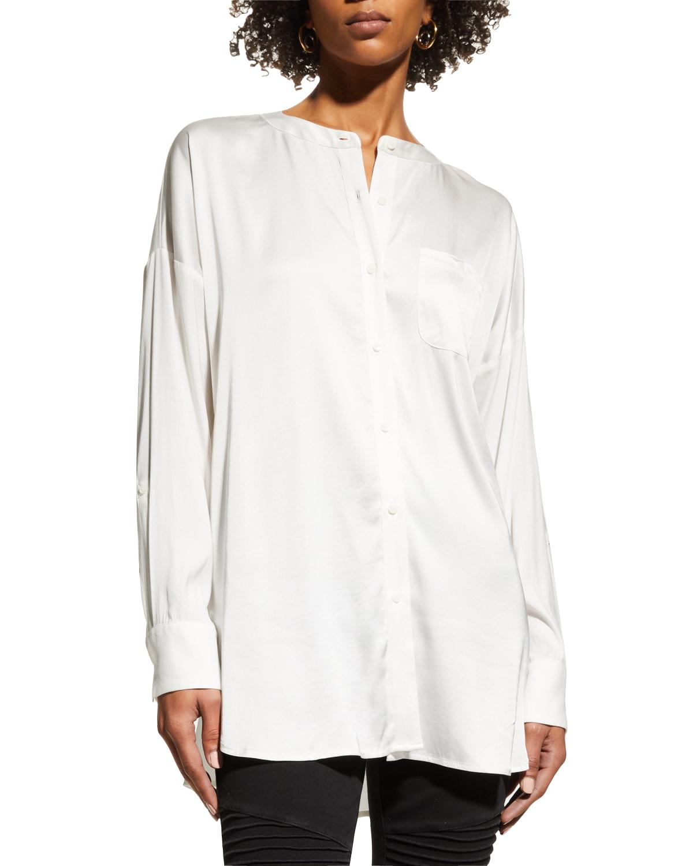 Eco-Satin Shirt