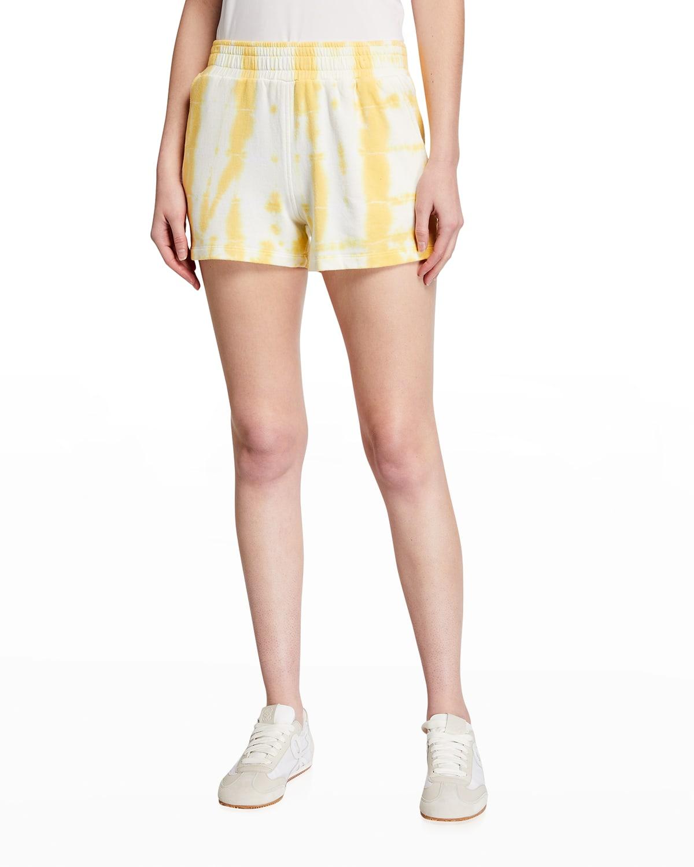Ex-Boyfriend Painter Tie Dye Super-Soft Fleece Shorts