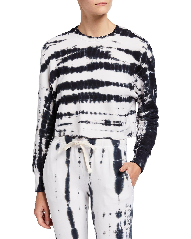Supersoft Painter Tie-Dye Boyfriend Sweatshirt