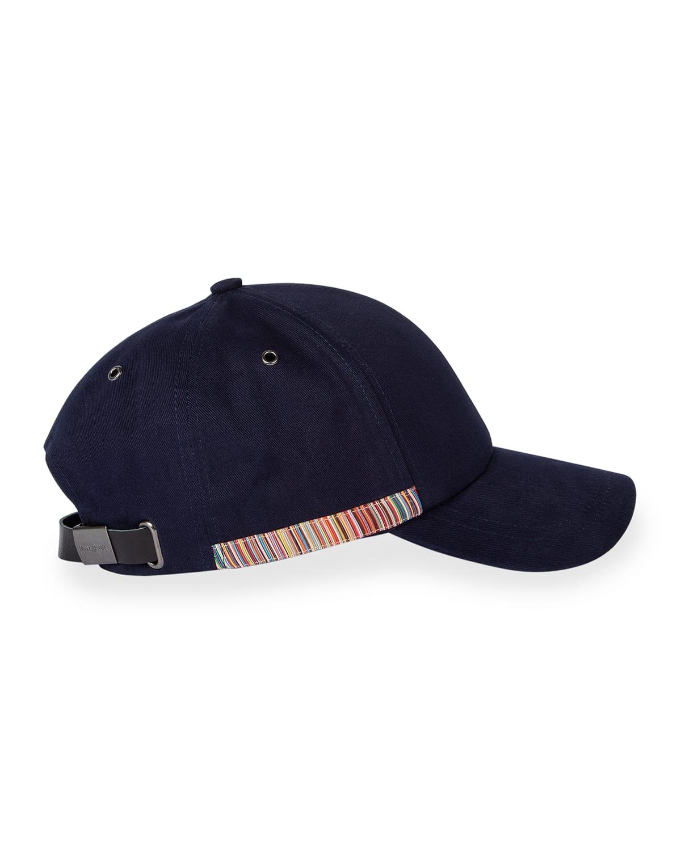 Men's Baseball Cap w/ Stripe Detail