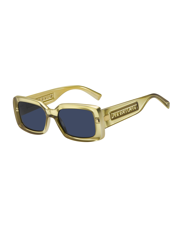 Rectangular Injection Plastic Sunglasses