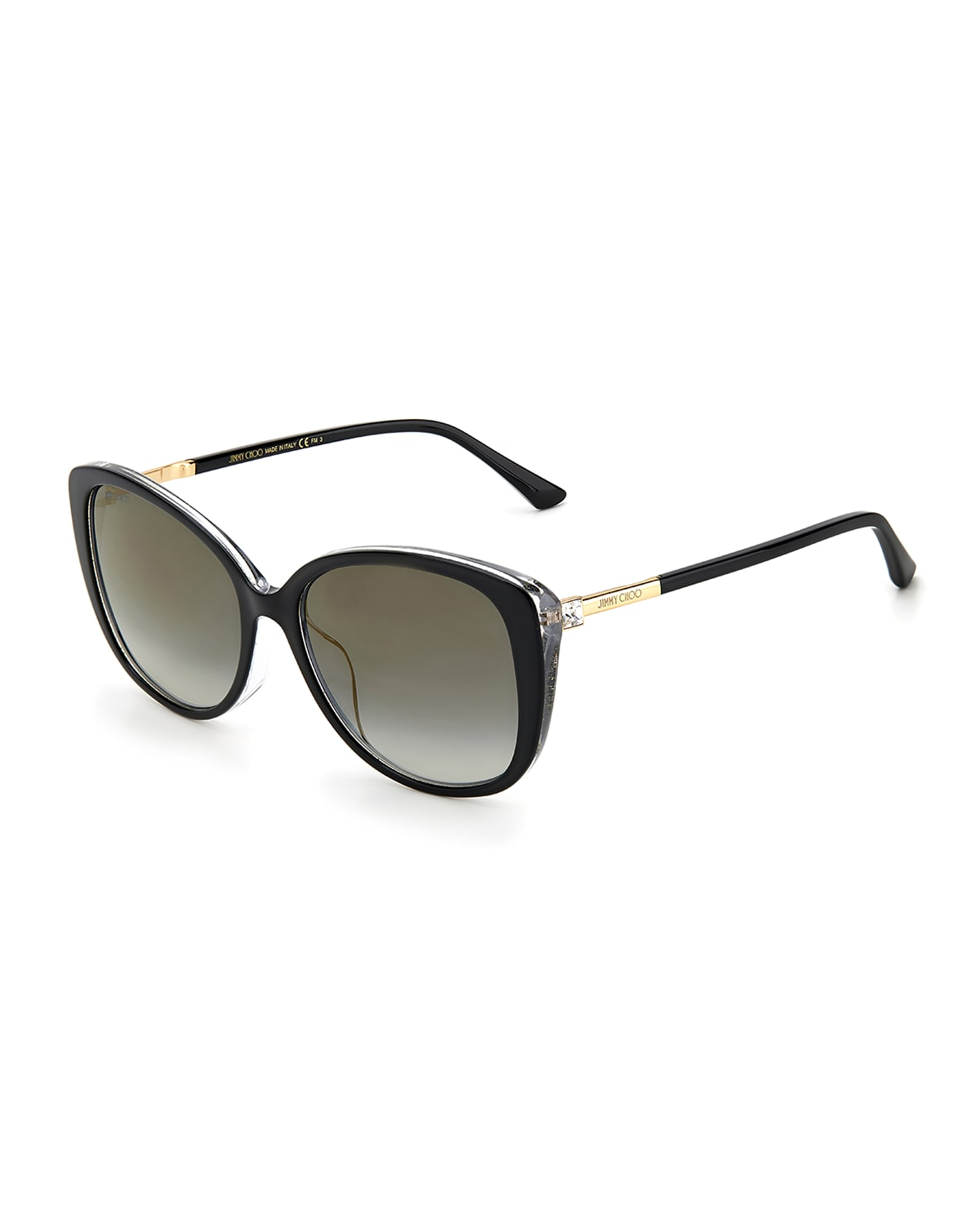 Aly Acetate Butterfly Sunglasses