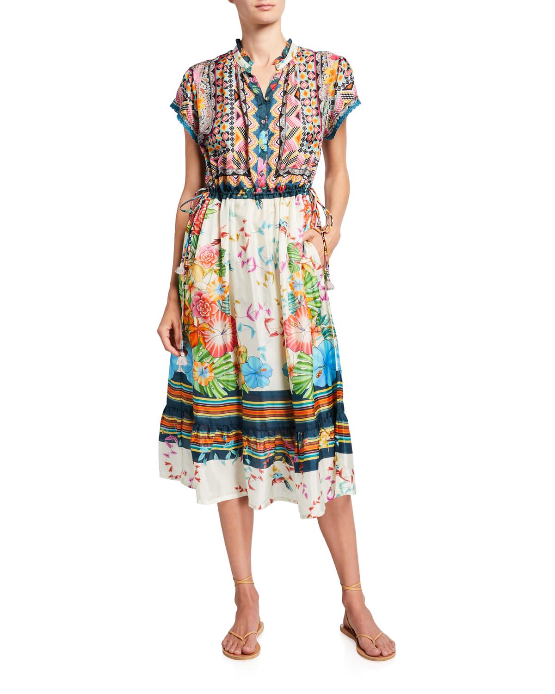 Genesis Silk Habutai Dress w/ Slip