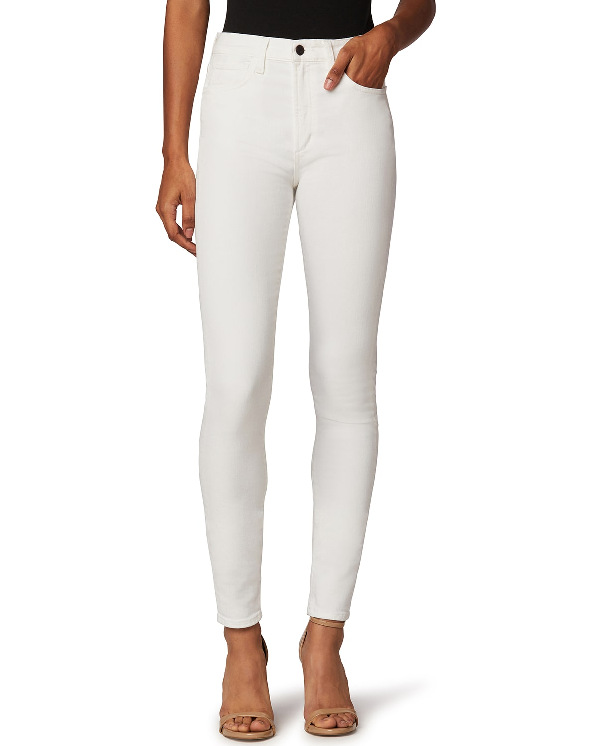The Twiggy High-Rise Jeans