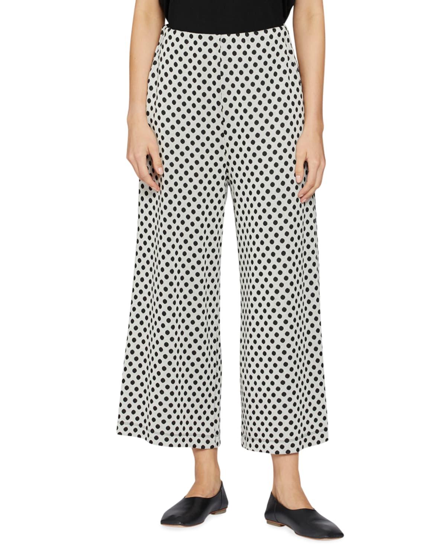 Piri Polka Dot Jersey Trousers