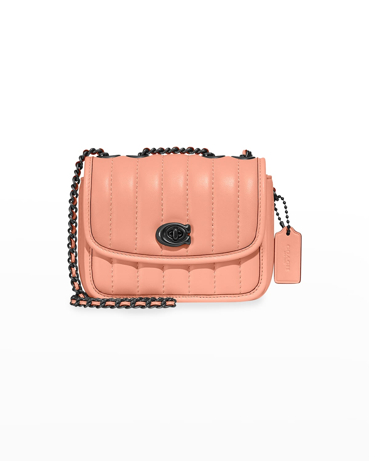 Madison Quilted Leather Chain Shoulder Bag