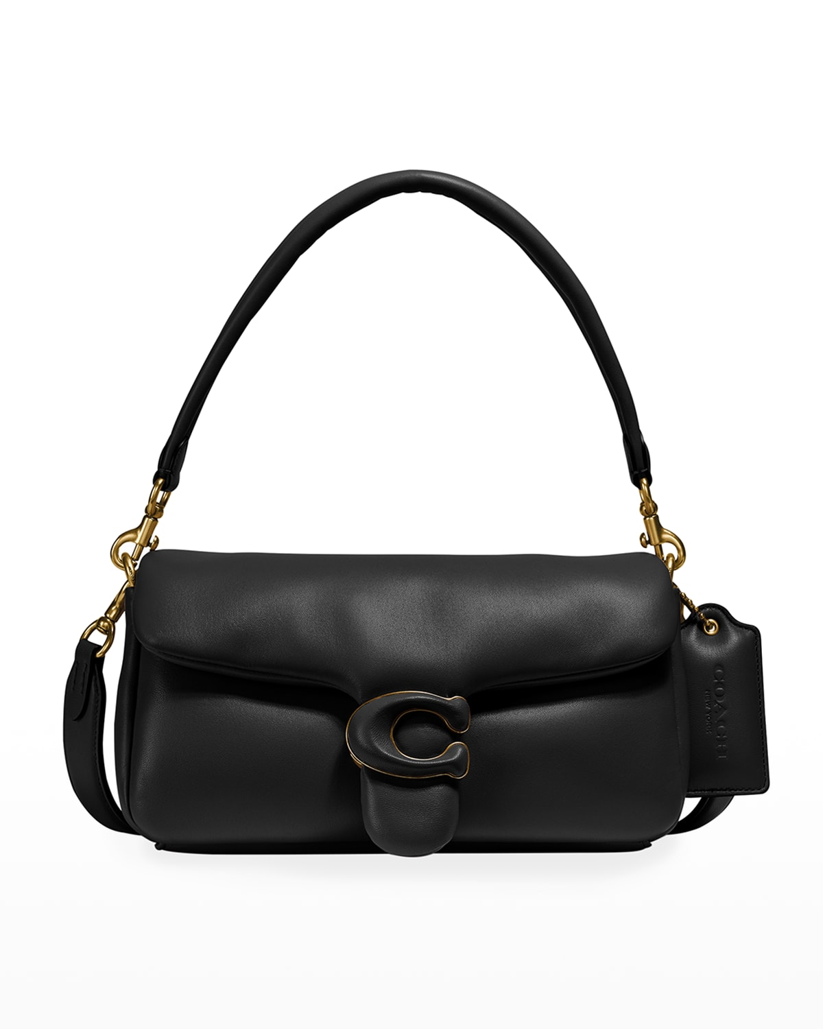 Puffy Tabby 26 Leather Shoulder Bag