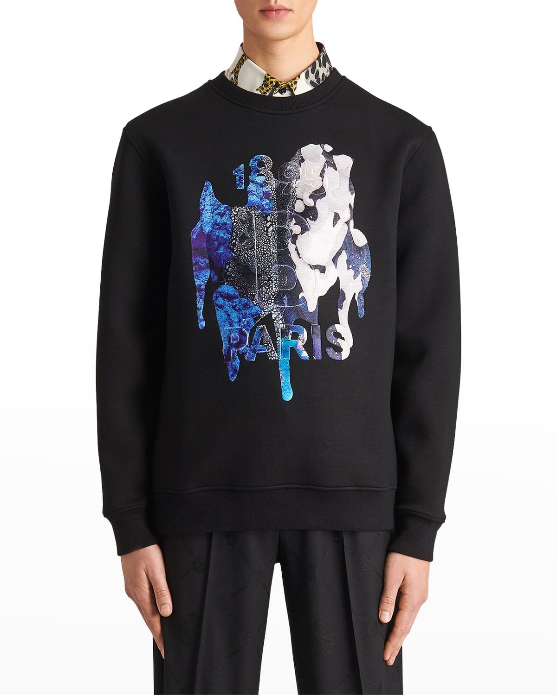Men's Rochefort Graphic-Print Sweatshirt
