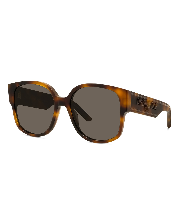 Oversized Square Acetate Sunglasses