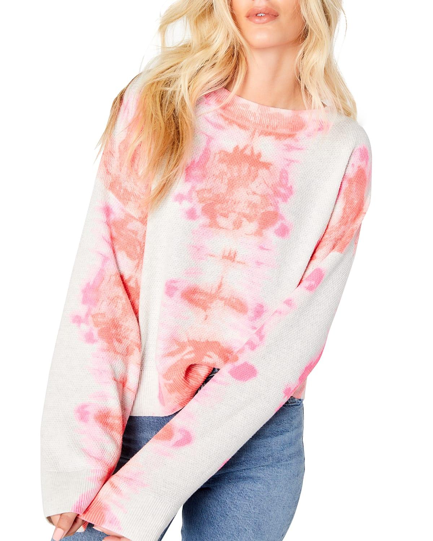 Dream On Tie Dye Cotton Sweater