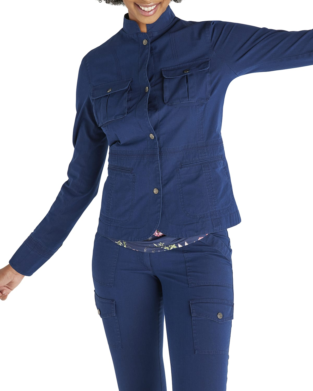 Frida Stretch Denim Jacket