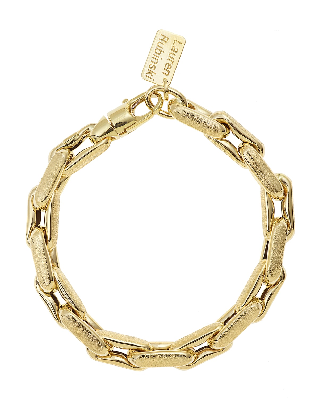 14k Medium Chain-Link Bracelet