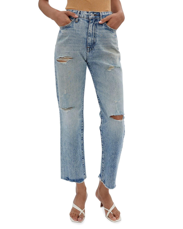 Eliot High-Rise Boyfriend Jeans