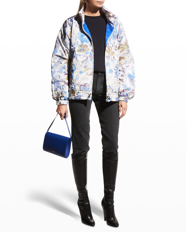 Dolores Printed Zip-Front Jacket