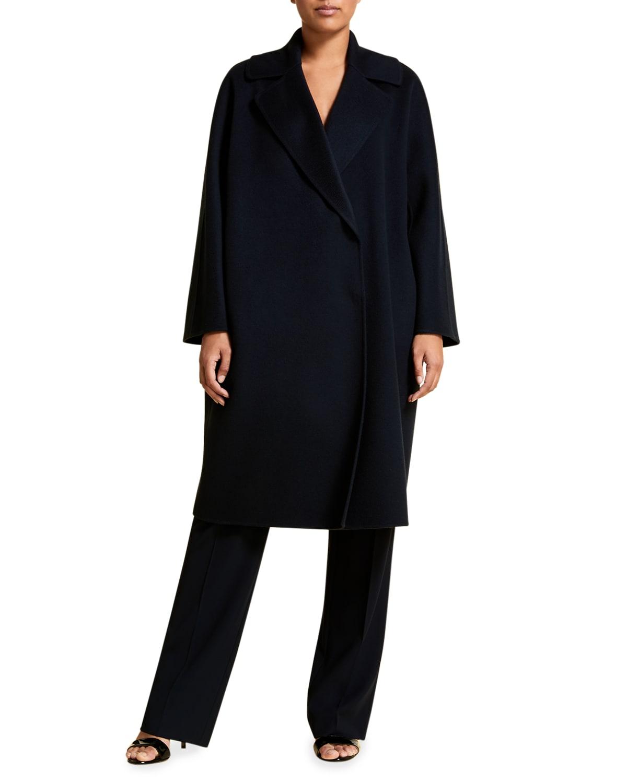 Plus Size Tabloidbis Double Wool Coat