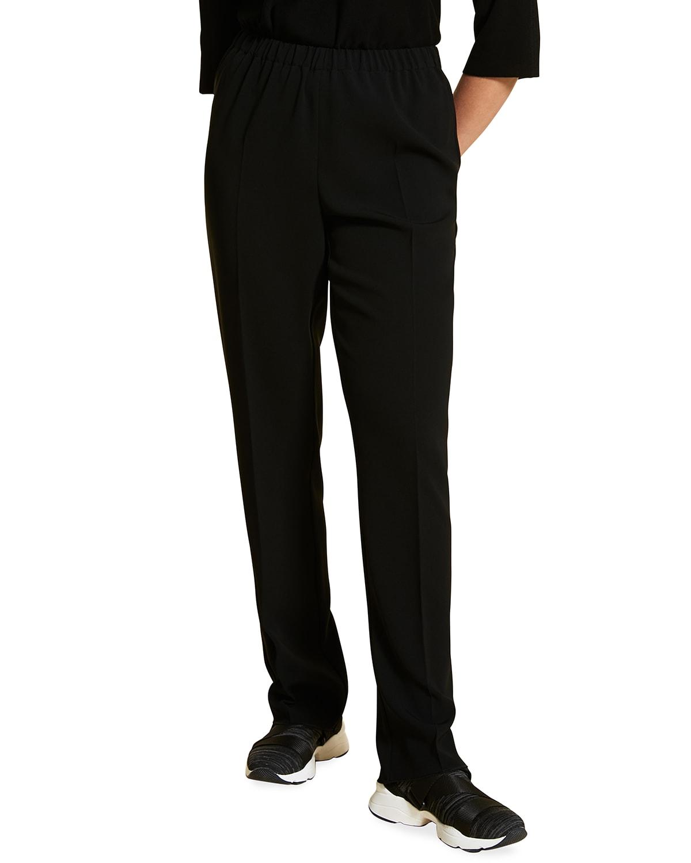 Plus Size Rapsodia Crepe Pull-On Pants