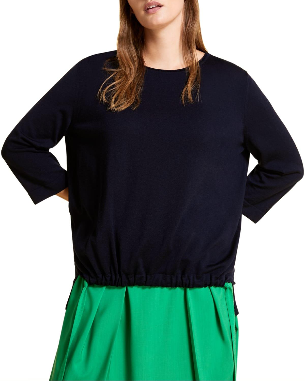 Plus Size Abitare Virgin Wool Sweater
