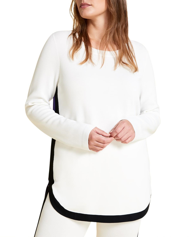 Plus Size Abaca Sweater tunic