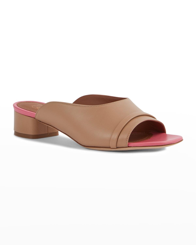 30mm Bicolor Slide Sandals