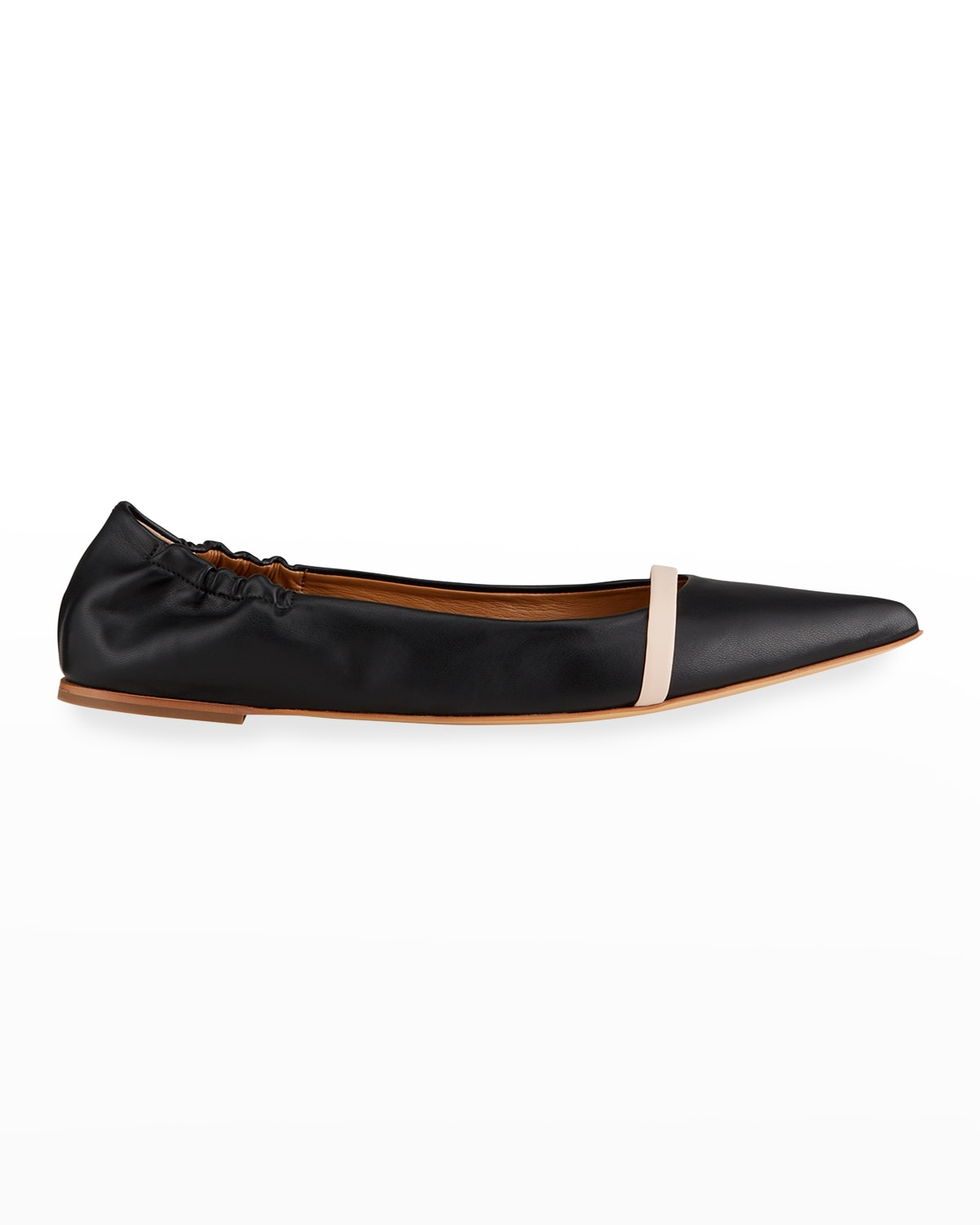 Pointed Vegan Leather Flats