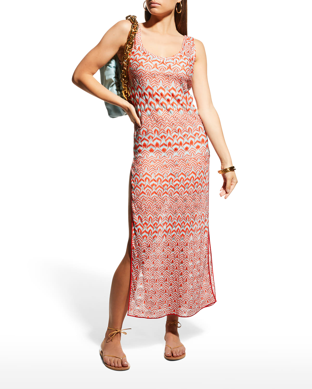 Long Side-Slit Coverup Dress