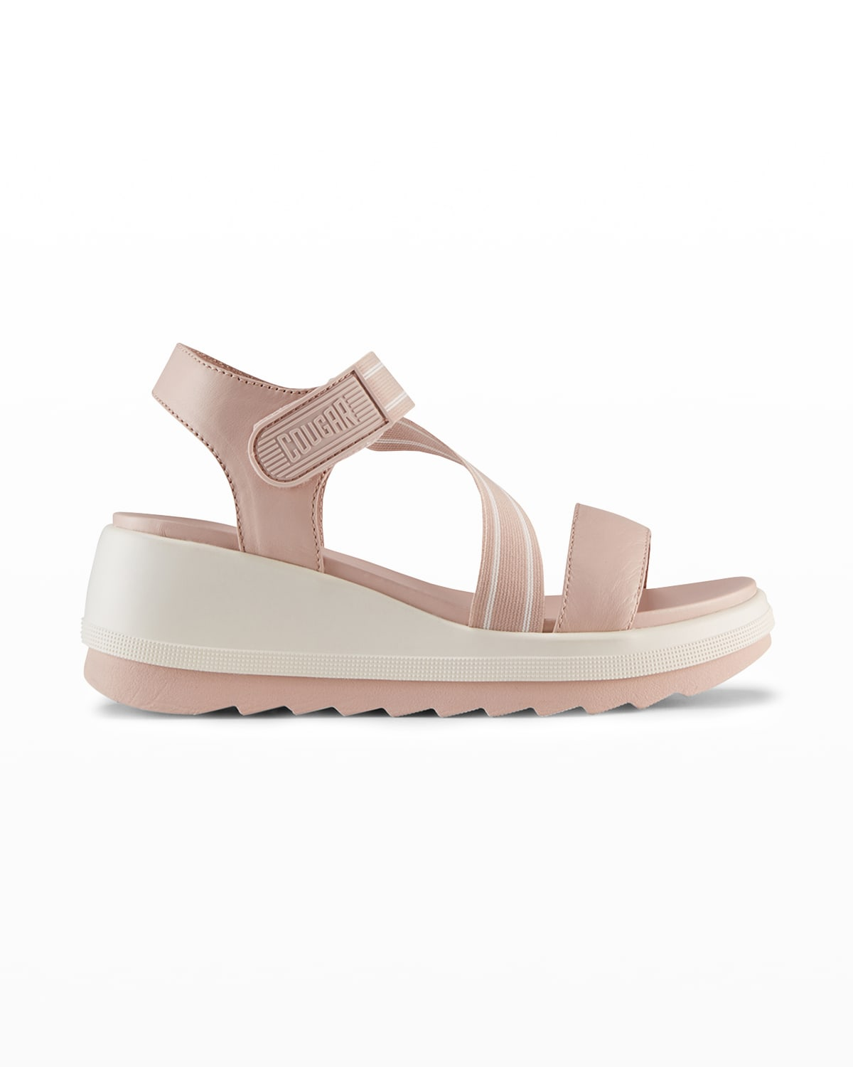 Hibiscus Sporty Wedge Sandals
