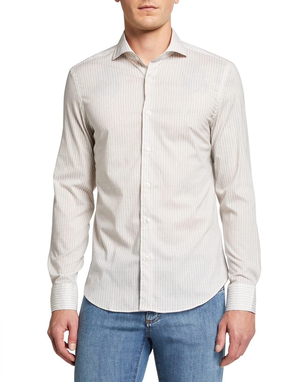 Men's Sean Striped Sport Shirt