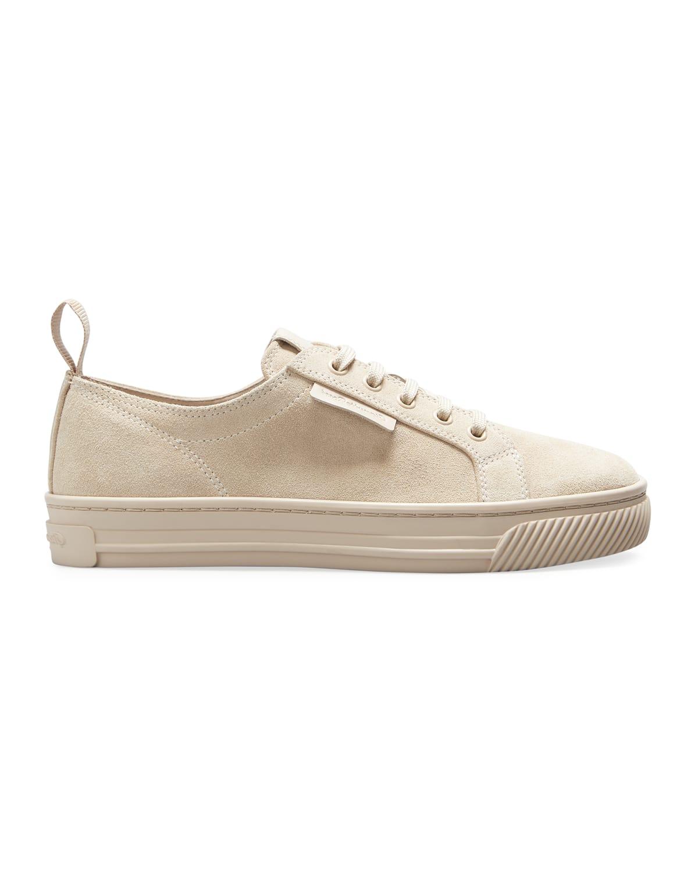 Suede Low-Top Sneakers