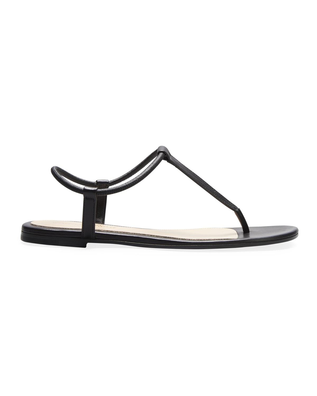 Napa T-Strap Flat Sandals