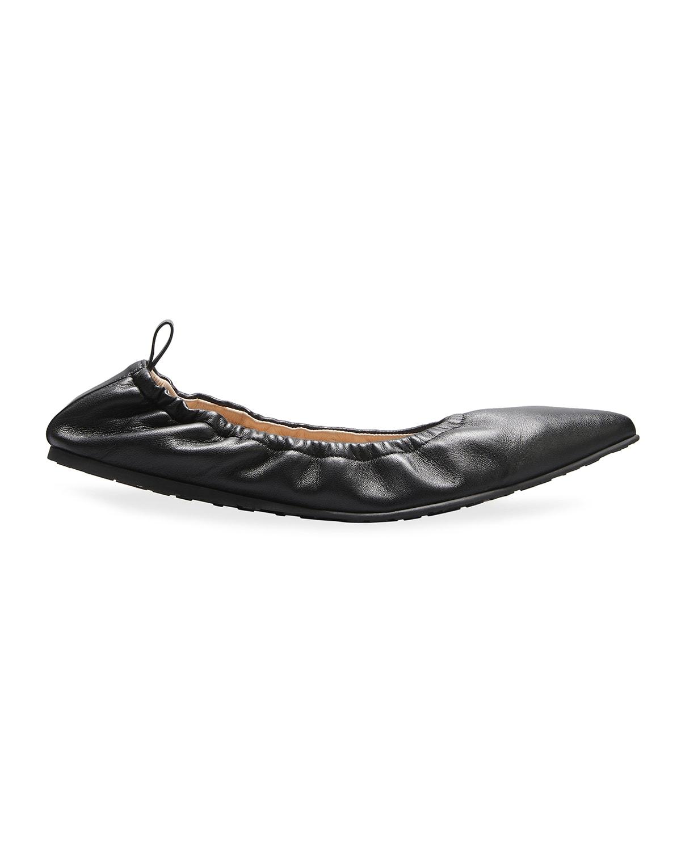 Napa Elastic Ballerina Flats