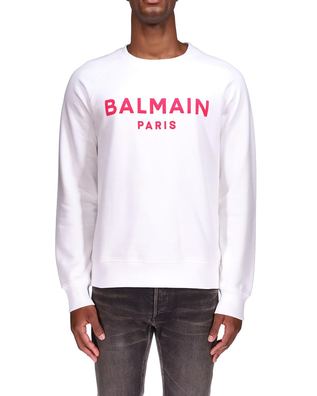Men's Flocked-Logo Sweatshirt