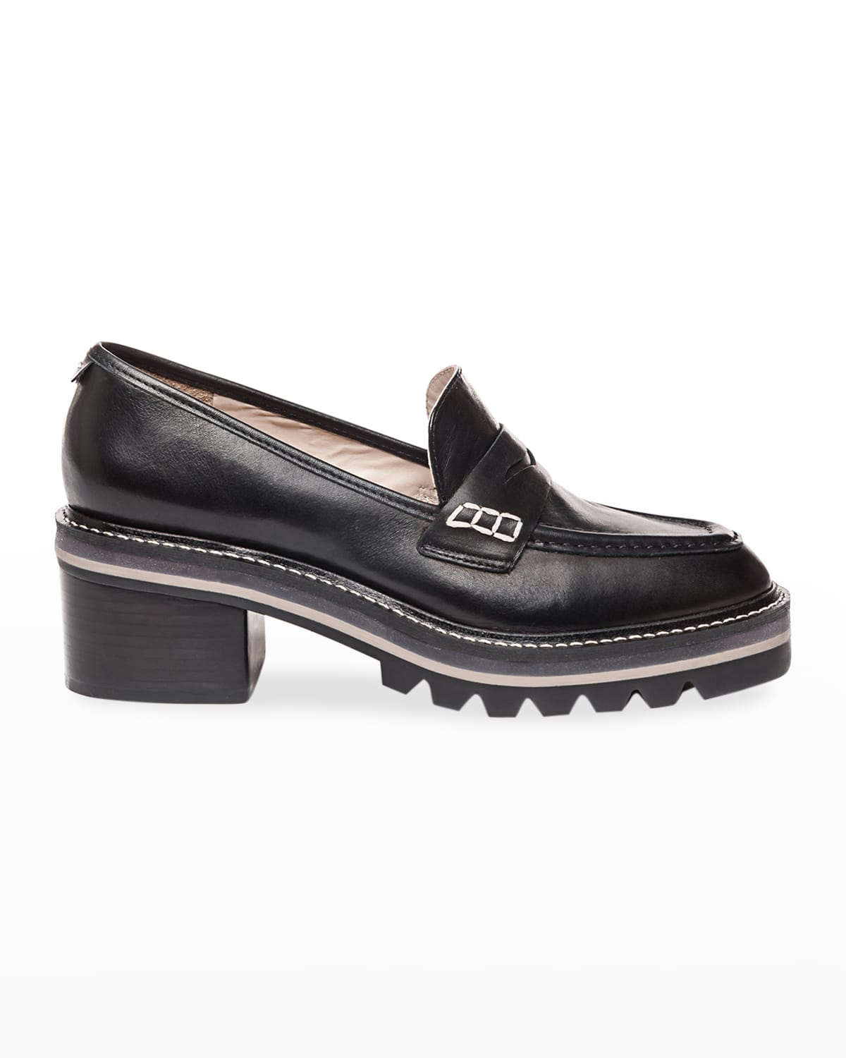 Selma Tricolor Penny Loafers