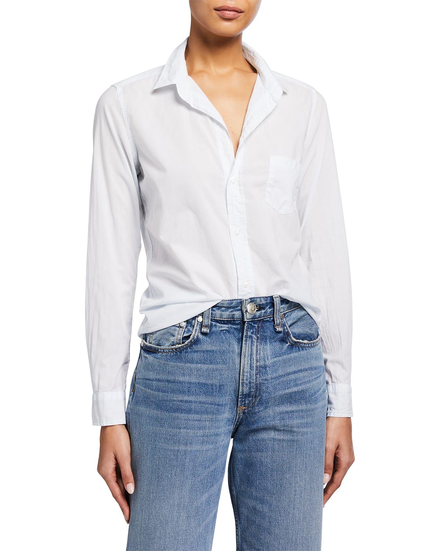 Barry Woven Button-Up Shirt