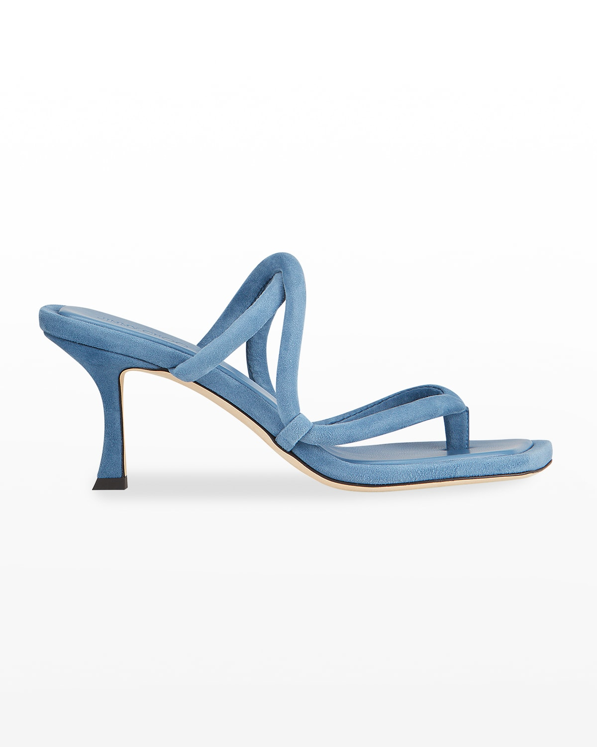 Cape Suede Strappy Slide Sandals
