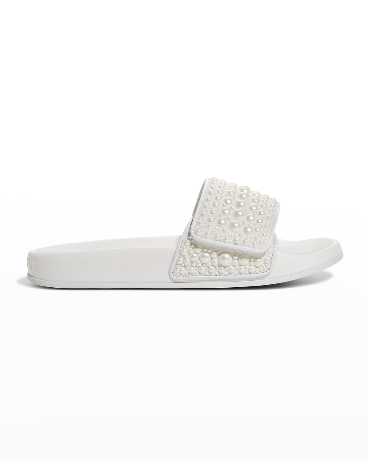 Fitz Pearly Stud Pool Sandals