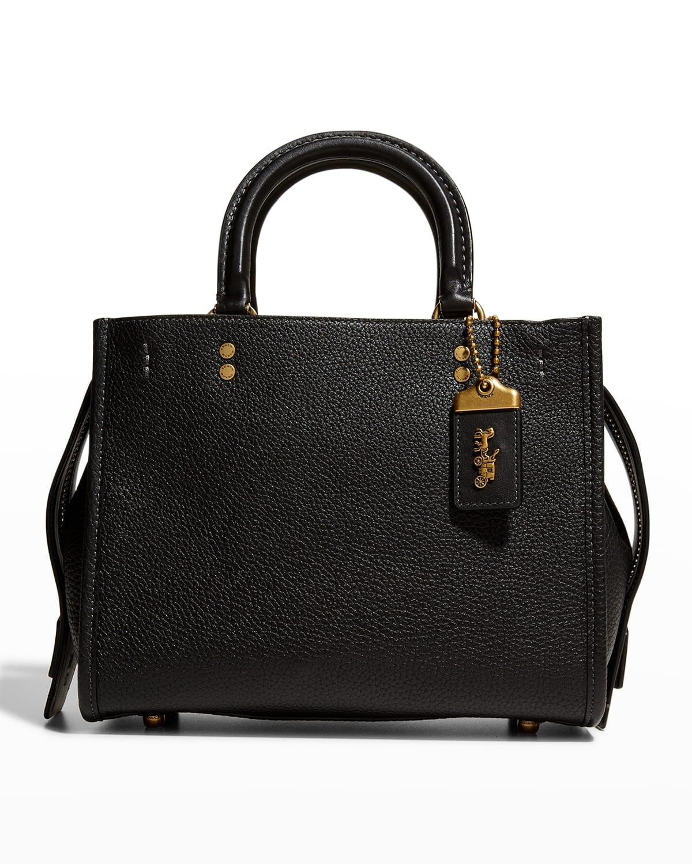 Rogue 25 Pebbled Leather Satchel Bag