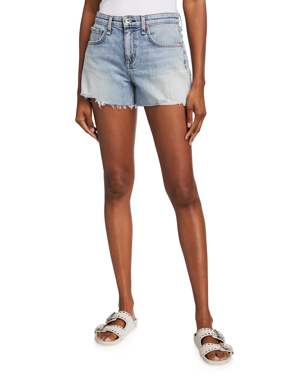 Dre Low-Rise Cutoff Shorts