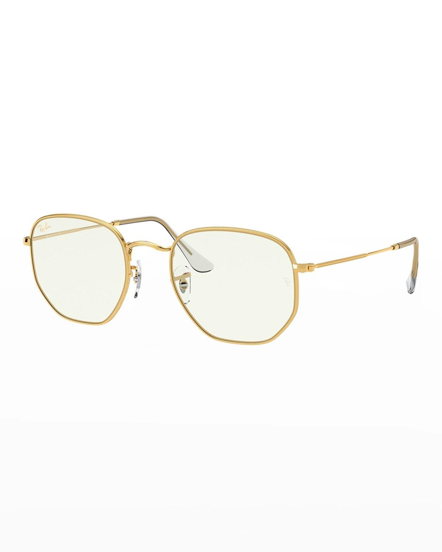 Men's Icons Hexagonal Sunglasses