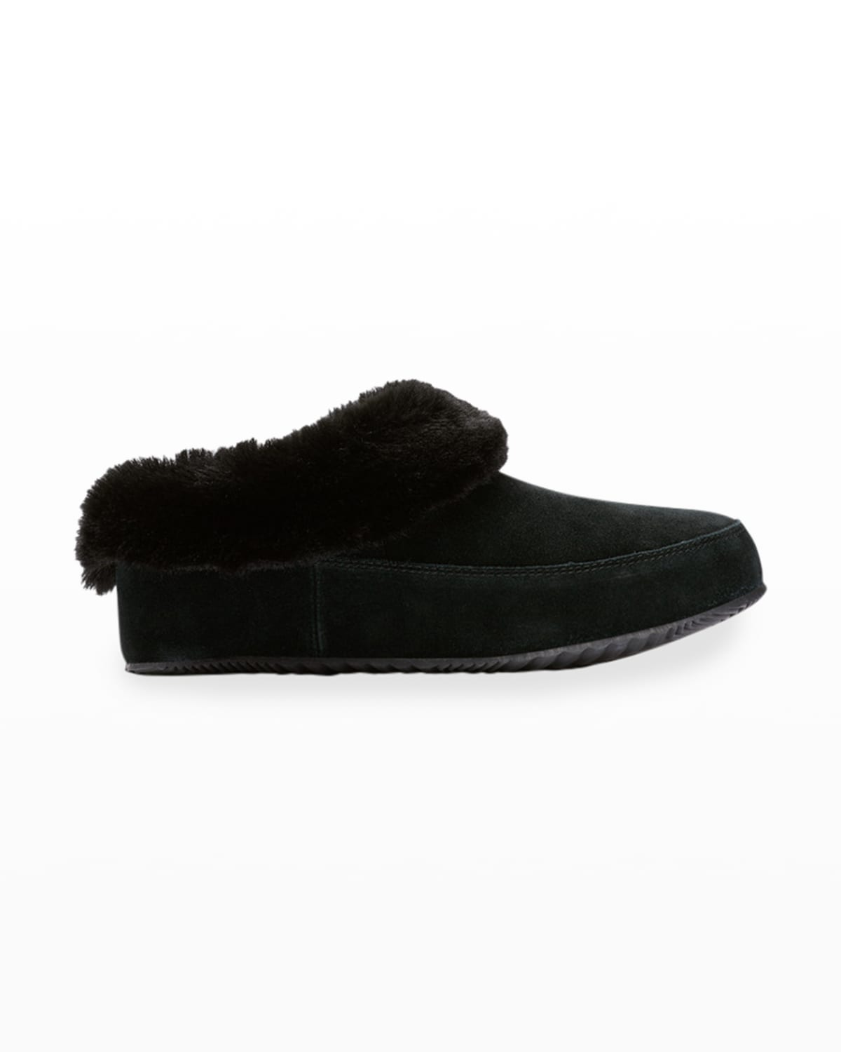 Go Coffee Run Suede Slippers