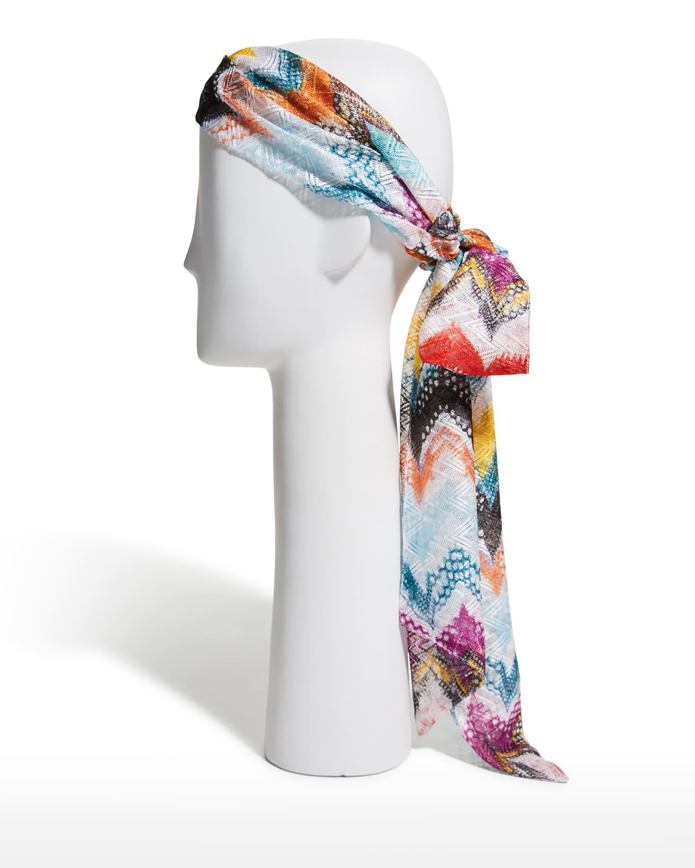 Knit Self-Tie Headband
