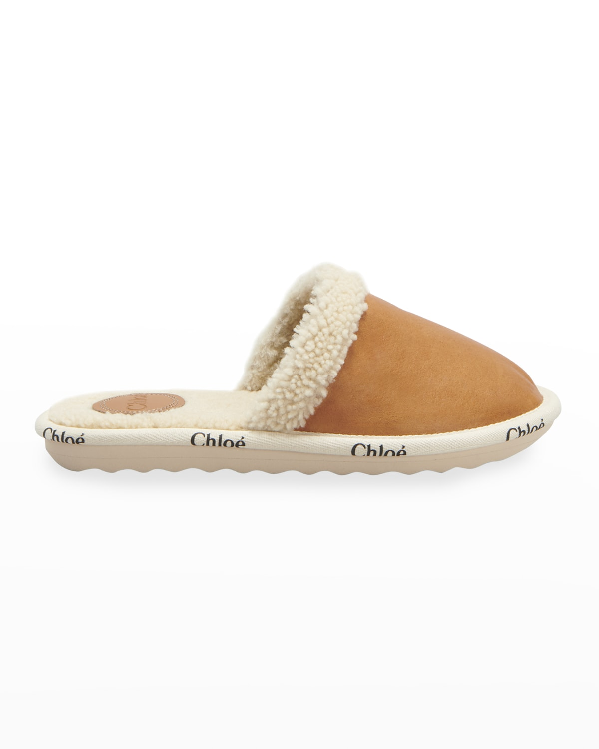 Woody Suede Shearling Slippers