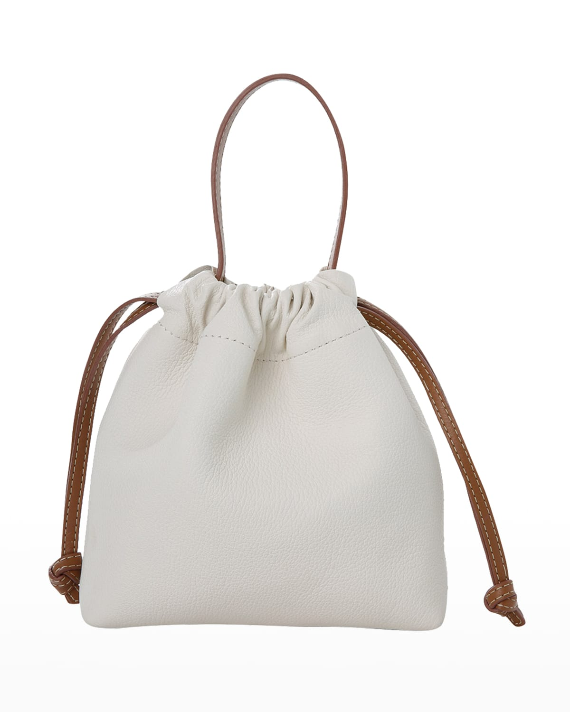 La Rossy Mini Leather Minaudiere Bag