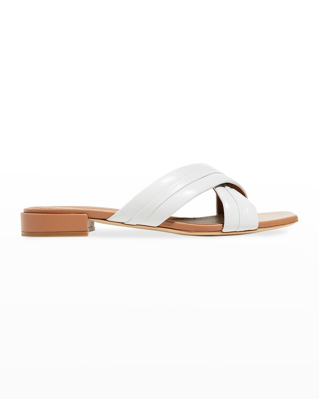 Napa Crisscross Slide Sandals