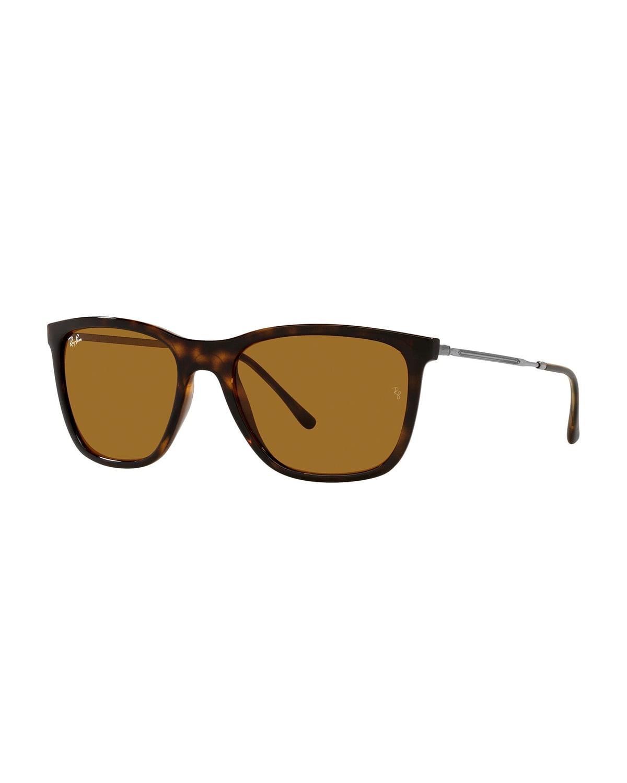 Square Metal/Plastic Sunglasses