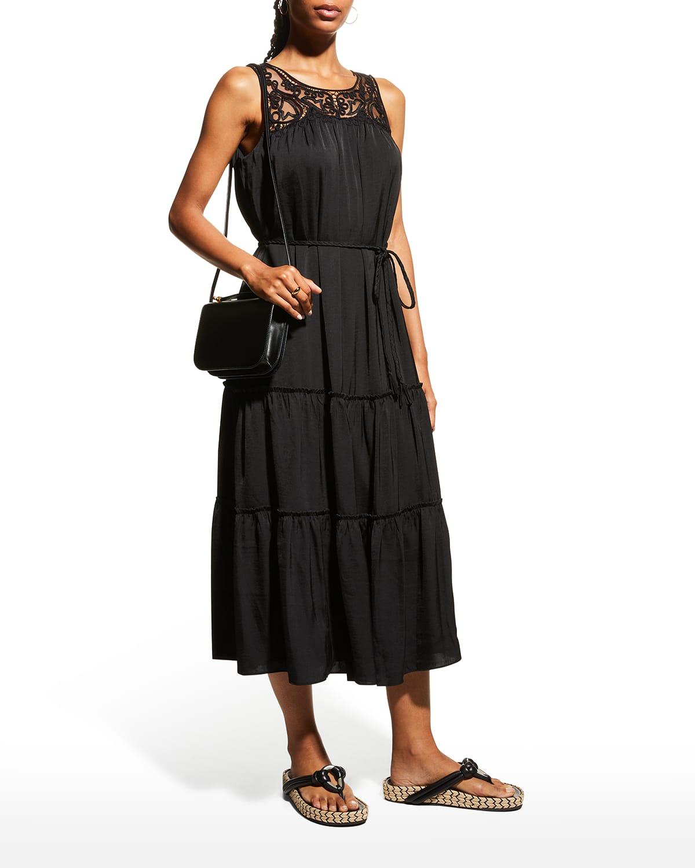 Brooke Sleeveless Midi Dress