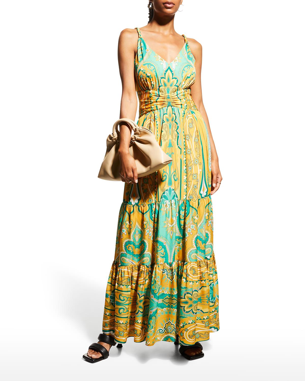 Aileen Sleeveless Maxi Dress